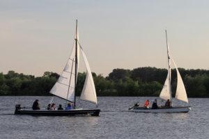 Sportbootführerschein-Ausbildung auf der Weser