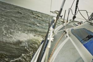 Yacht auf der Nordsee