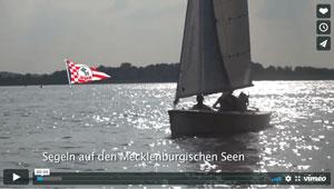 Hier seht ihr ein Video mit Zora und Krümel auf den Mecklenburger Seen